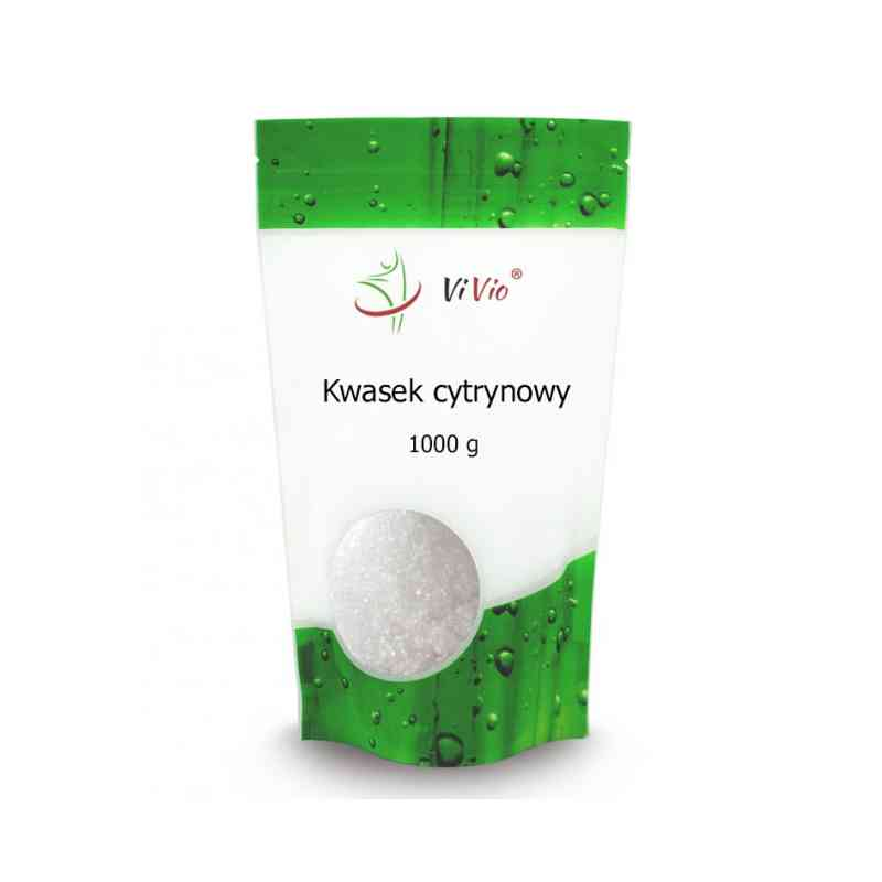 Kwasek cytrynowy jednowodny 1kg Vivio
