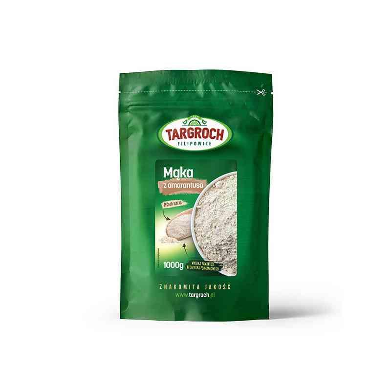 Mąka z nasion amarantusa 1kg Targroch
