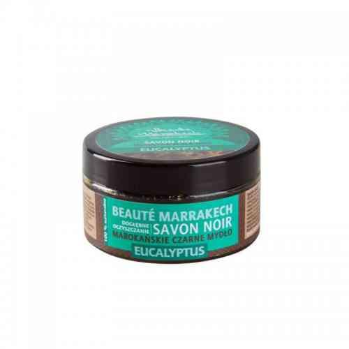 Czarne mydło Savon Noir EUKALIPTUSOWE 100 g Beaute Marrakech
