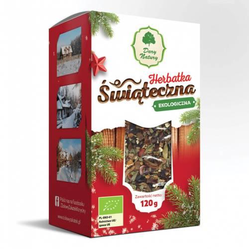 Ekologiczna herbata ŚWIĄTECZNA 120g Dary Natury