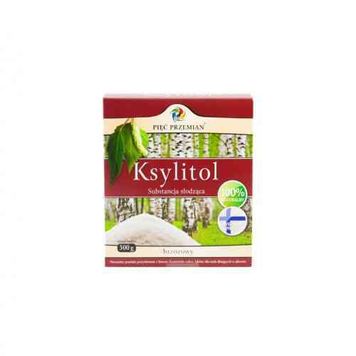 Fiński ksylitol - cukier brzozowy 500g Pięć Przemian