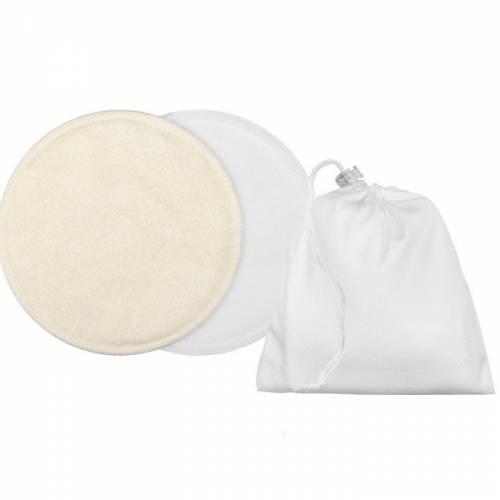 Wkładki laktacyjne wielorazowe 4szt. + woreczek Simed