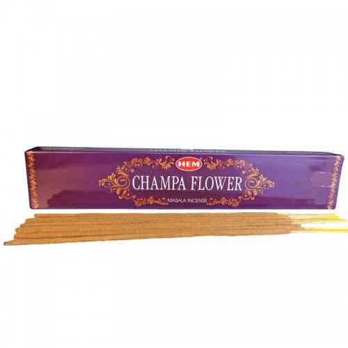 Kadzidła szlachetne pyłkowe CHAMPA FLOWER 15g Masala HEM