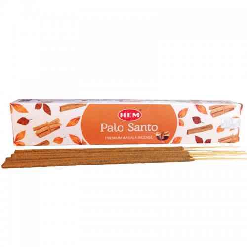 Kadzidła szlachetne pyłkowe PALO SANTO 15g Premium Masala HEM