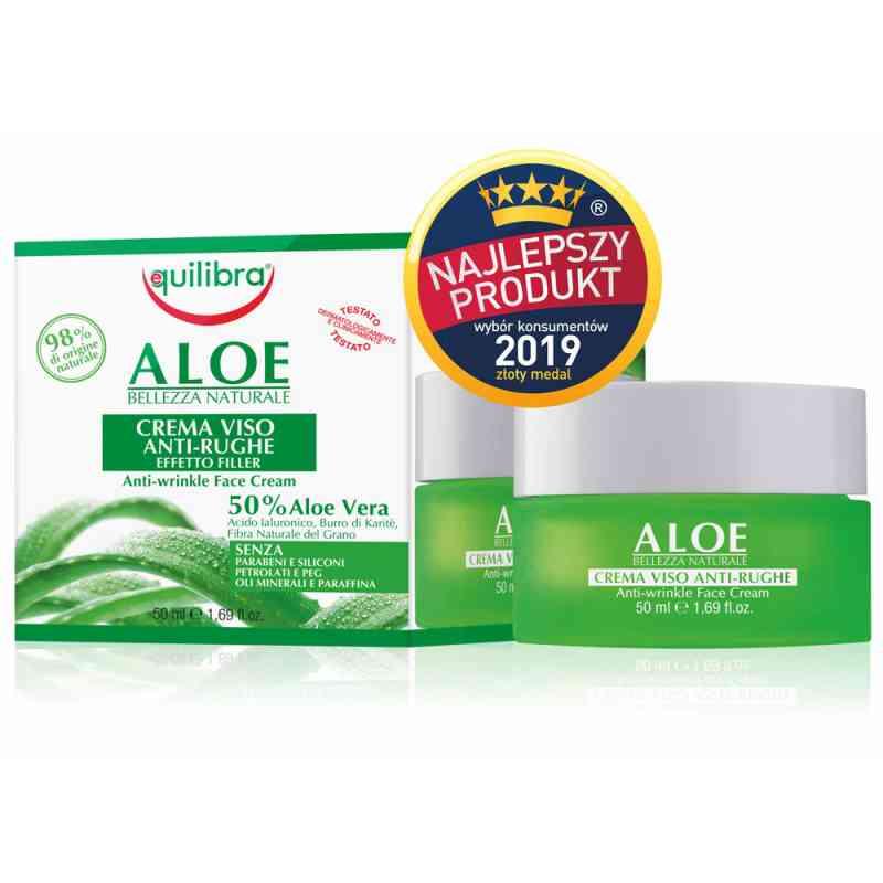 Aloesowy krem przeciwzmarszczkowy - efekt wypełnienia 50 ml Equilibra