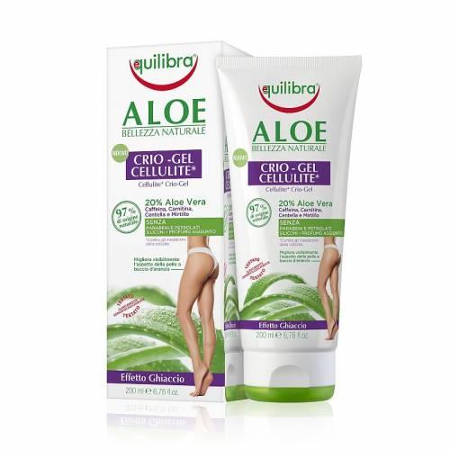 Aloesowy chłodzący żel antycellulitowy 200 ml Equilibra