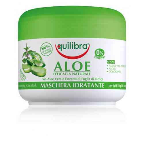 Nawilżająca maska aloesowa NATURALE 200 ml Equilibra