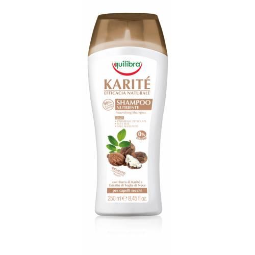Intensywnie odżywiający szampon z masłem Shea NATURALE 250 ml Equilibra