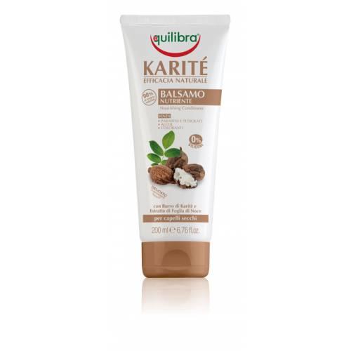 Intensywnie odżywiająca odżywka do włosów z masłem shea NATURALE 200 ml Equilibra