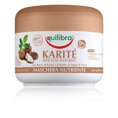 Intensywnie odżywiająca maska do włosów z masłem shea NATURALE 200 ml Equilibra