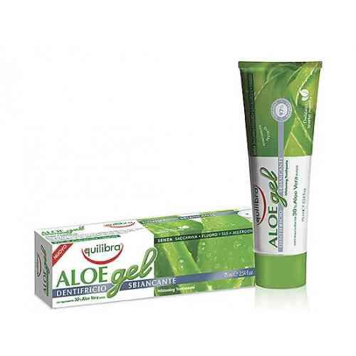Pasta do zębów wybielająca – żel aloesowy 75 ml Equilibra