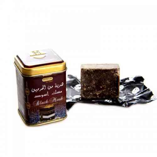 Arabskie PERFUMY w kostce CZARNE PIŻMO 25g Hemani