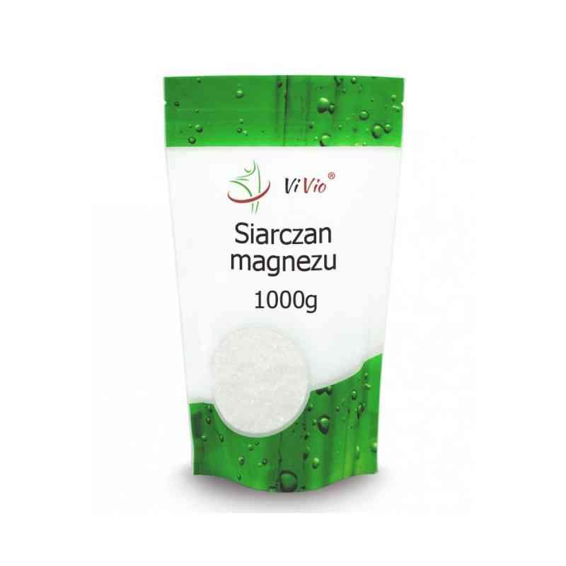 Sól gorzka EPSOM siarczan magnezu 1kg Vivio