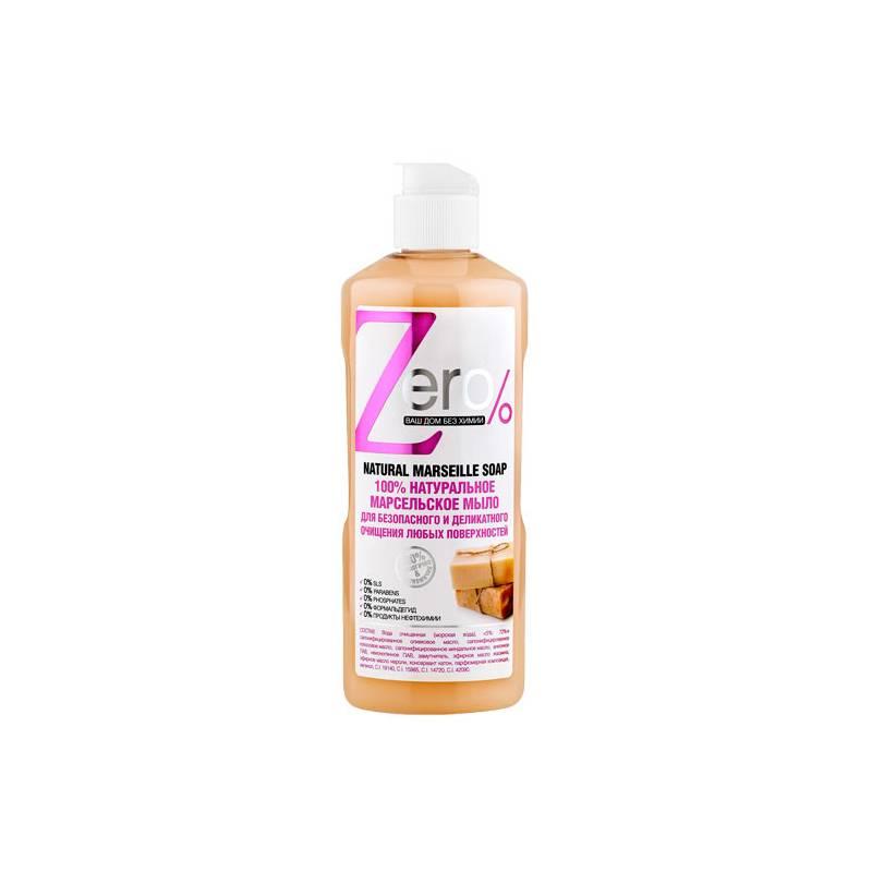 100% naturalne mydło Marsylia do czyszczenia różnych powierzchni 500 ml, ZERO