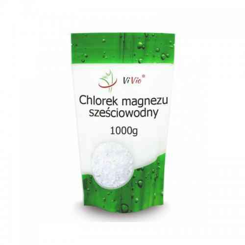 Chlorek magnezu sześciowodny 1 kg Vivio