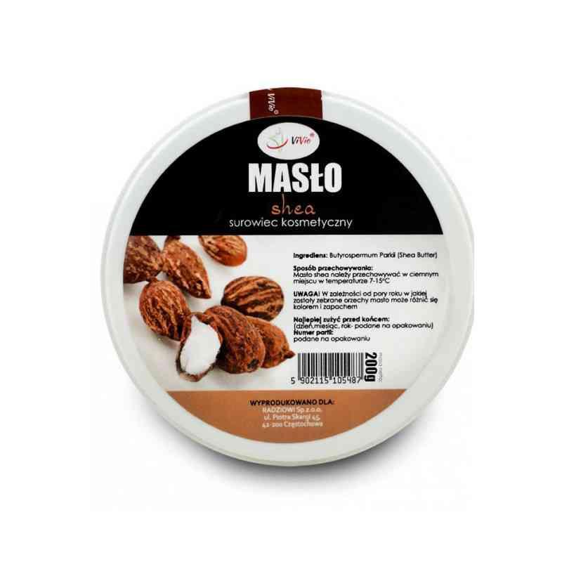 Afrykańskie masło shea nierafinowane 200 g Vivio