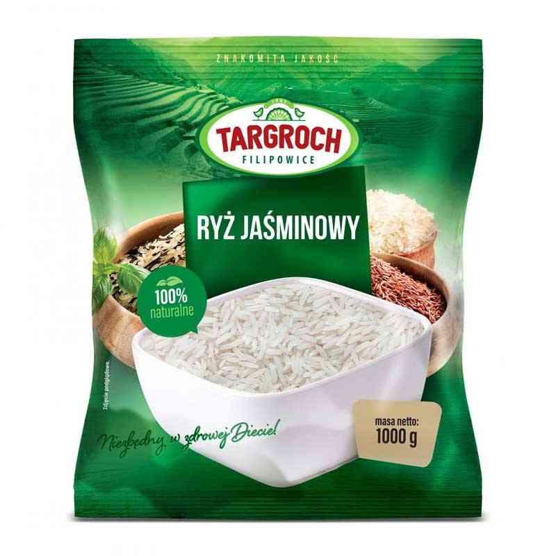 Ryż JAŚMINOWY 1kg Targroch
