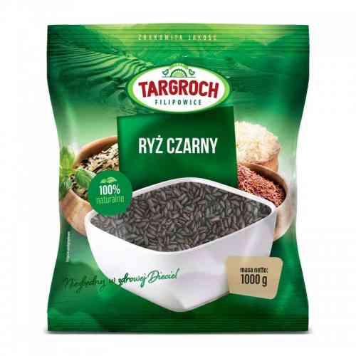 Ryż CZARNY tajski 1kg Targroch