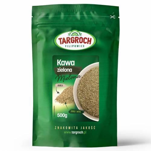 Kawa zielona mielona 500g Targroch