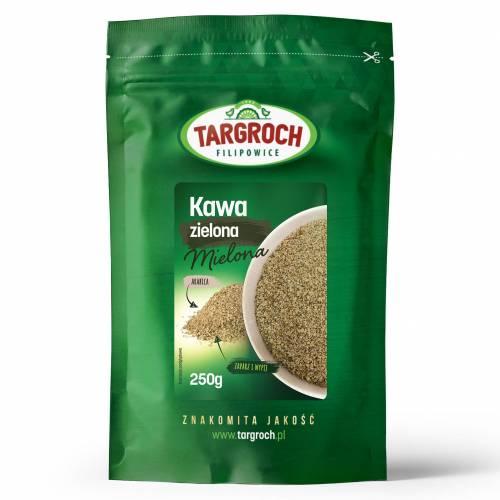 Kawa zielona mielona 250g Targroch