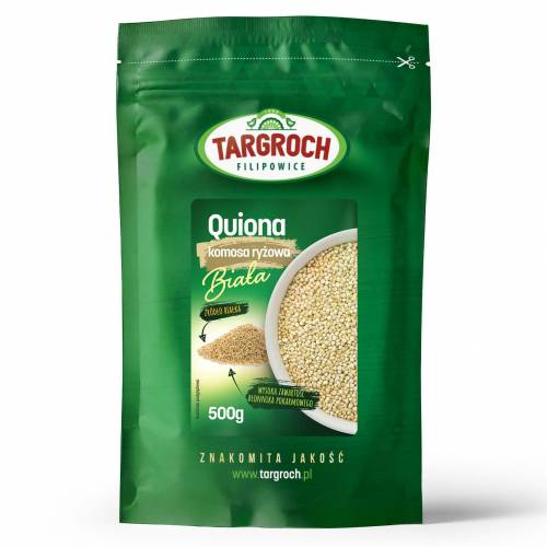 Komosa ryżowa biała QUINOA 500g Targroch