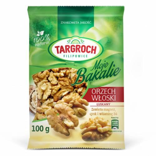 Orzechy włoskie łuszczone 100g Targroch