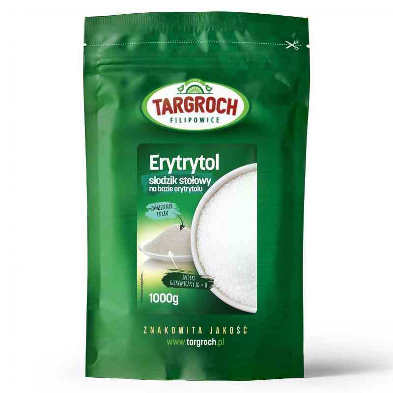 Erytrytol zamiennik cukru 1kg Targroch
