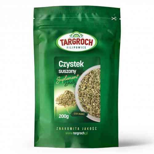 Czystek suszony turecki (Cistus Incanus) suplement diety 200g Targroch