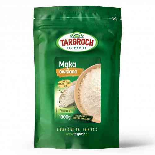 Mąka owsiana 1kg Targroch