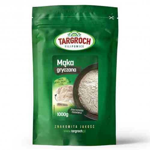 Mąka z kaszy gryczanej 1kg Targroch