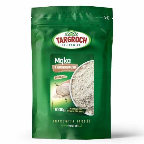 Mąka z nasion amarantusa 500g Targroch