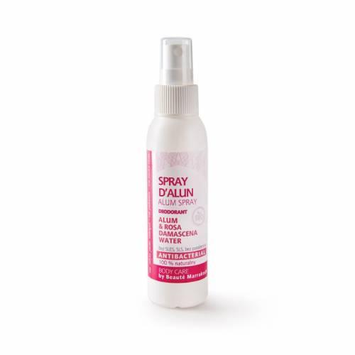Naturalny dezodorant ałunowy różany, spray 100 ml Beaute Marrakech
