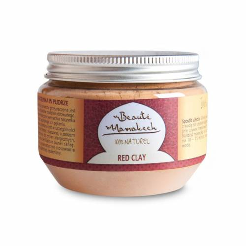 Glinka czerwona w pudrze 200 g Beaute Marrakech