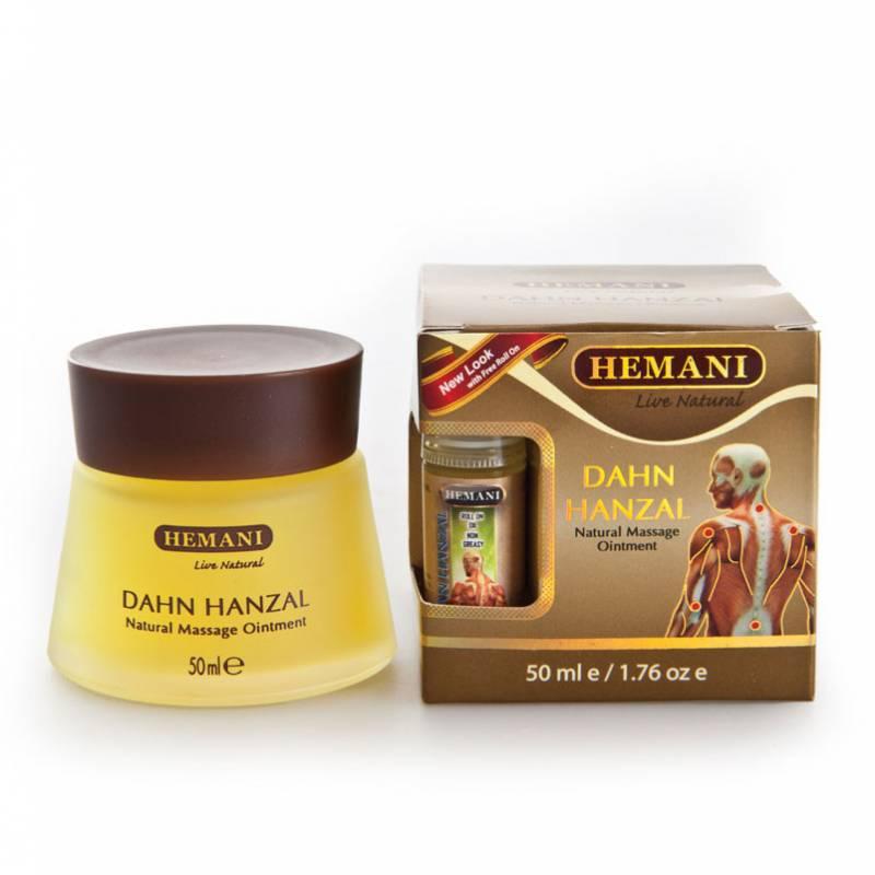 Ziołowa maść na bóle mięśni i stawów 50ml + Olejek do inhalacji 5 ml Hemani