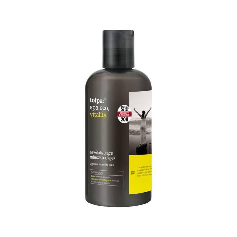 Rewitalizujące mleczko-olejek 270 ml Tołpa spa eco, vitality