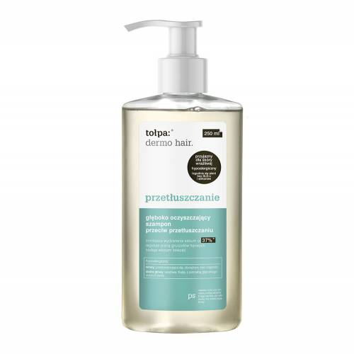 Głęboko oczyszczający szampon przeciw przetłuszczaniu 250 ml Tołpa dermo hair