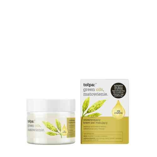 Orzeźwiający krem - żel matujący (olej z cytryny) 50 ml Tołpa green oils