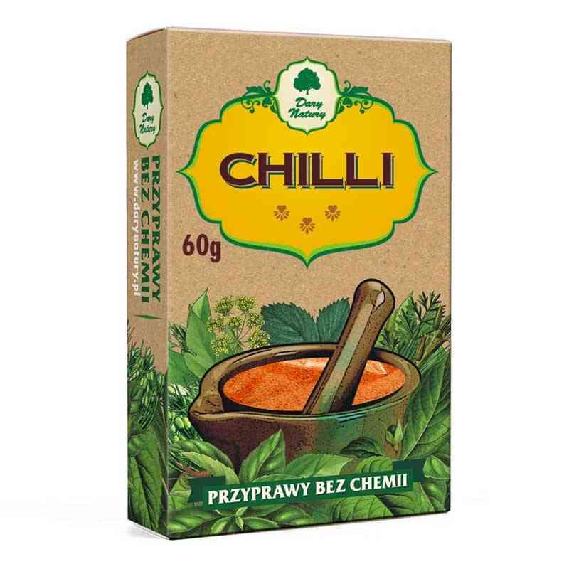 Chili 60g Przyprawy bez chemii, Dary Natury