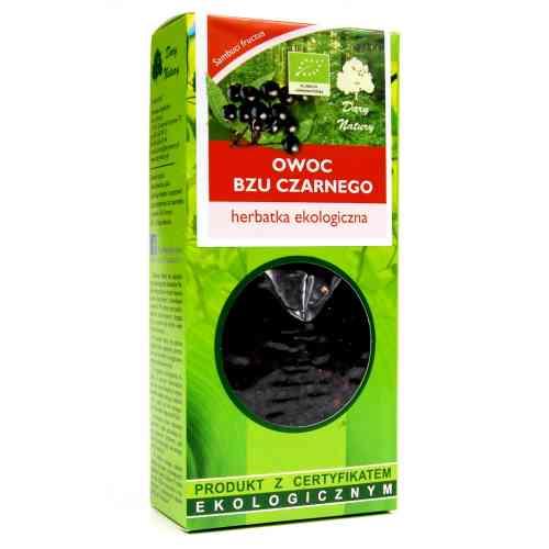 Owoc bzu czarnego (czarny bez) 100g Dary Natury