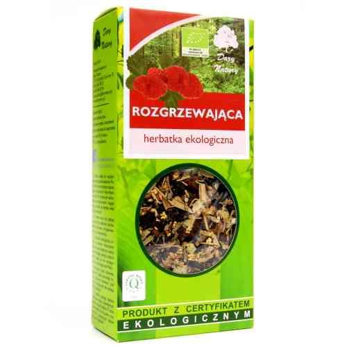Herbata rozgrzewająca ekologiczna 50g Dary Natury