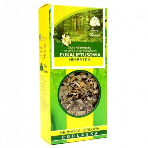 Herbata eukaliptusowa 50g Dary Natury