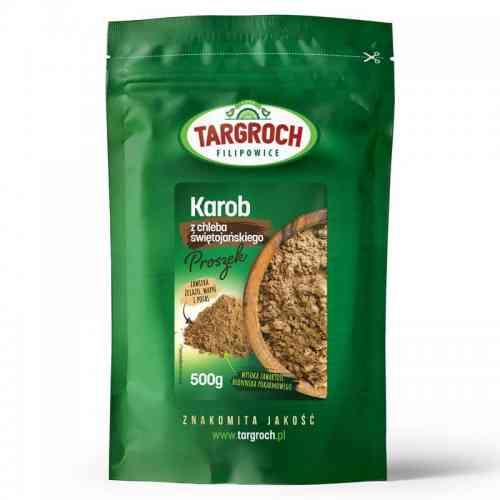 Karob mączka chleba świętojańskiego 500g Targroch