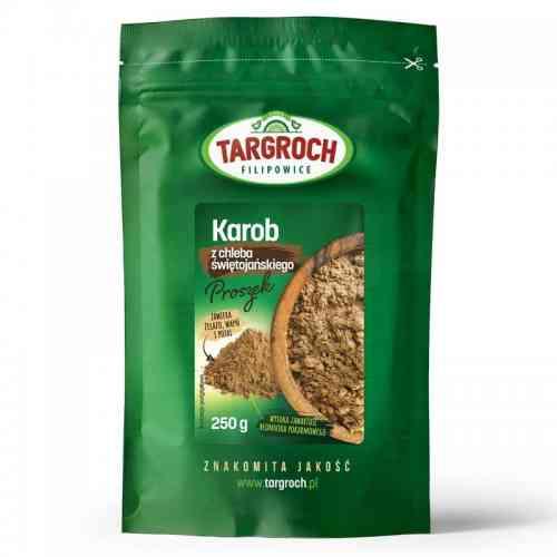 Karob mączka chleba świętojańskiego 250g Targroch