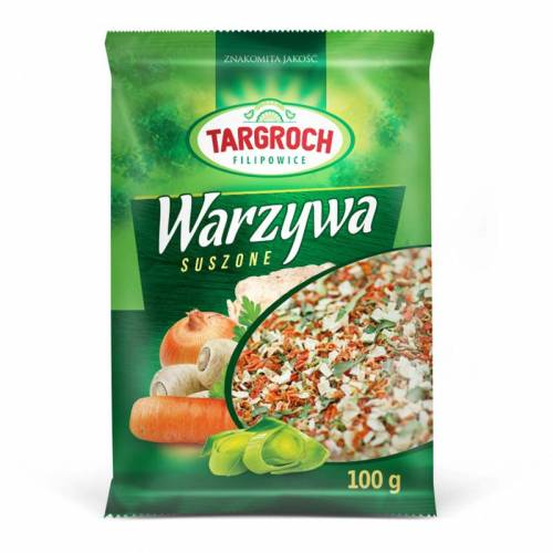 Warzywa suszone 100g Targroch