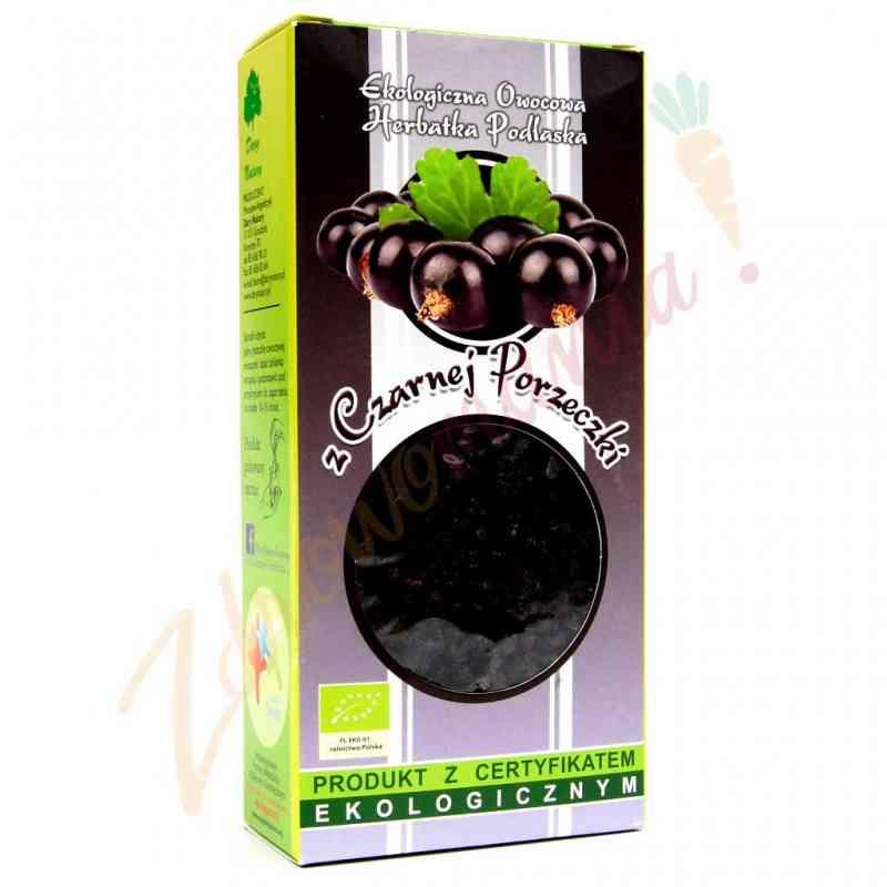 Herbata z czarnej porzeczki 100g sypana EKO