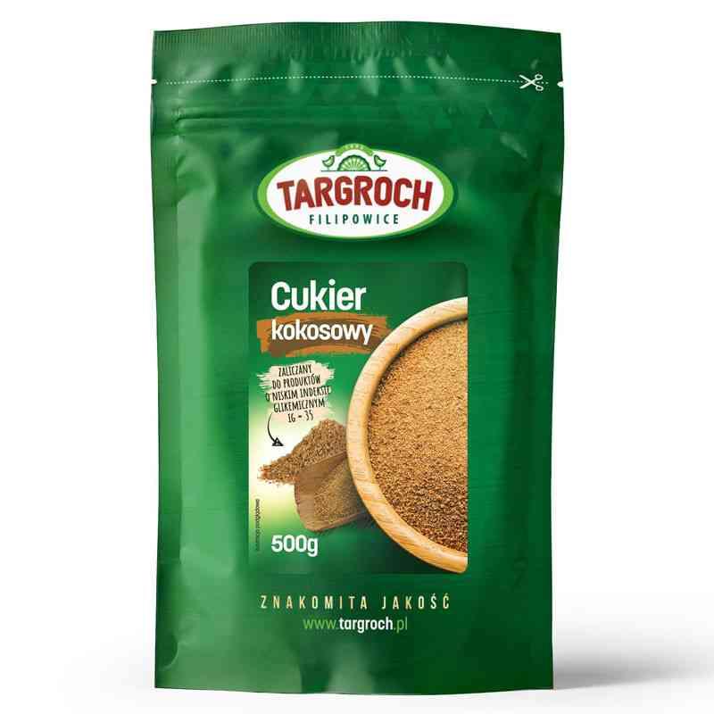 Cukier kokosowy 500g Targroch