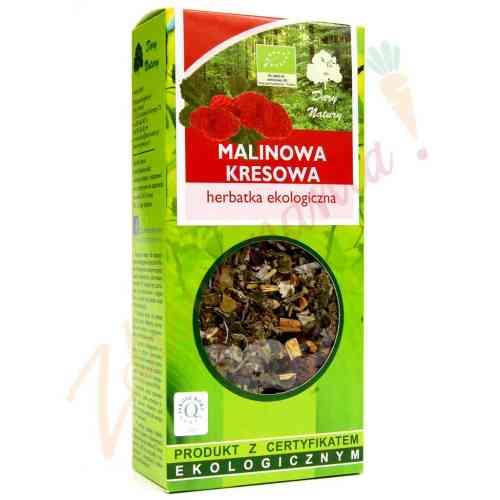 Herbata malinowa kresowa 50g sypana EKO