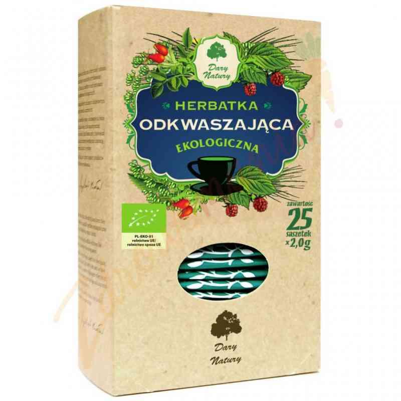 Ekologiczna herbata ODKWASZAJĄCA 25x2g Dary Natury
