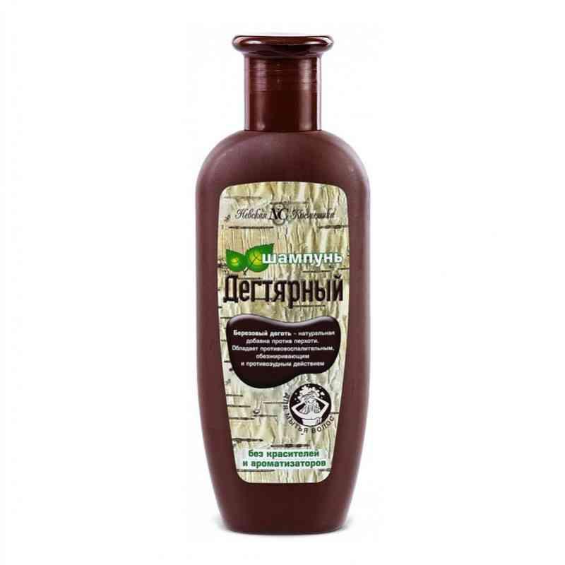 Dziegciowy szampon przeciwłupieżowy i przeciwłuszczycowy 250ml Nevskaya Kosmetika