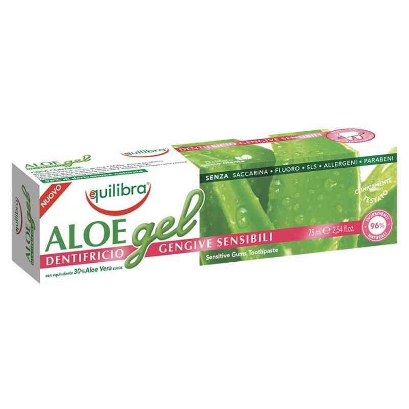 Aloesowa pasta do wrażliwych zębów SENSITIVE 75ml Equilibra